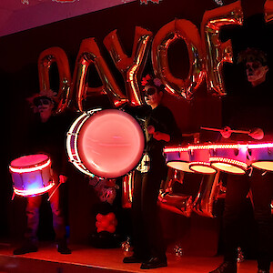 day of the dead drummers hire uk