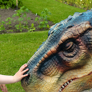 dinosaur hire uk