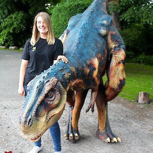 uk dinosaur hire