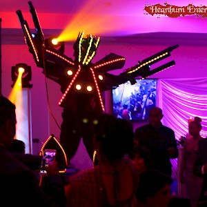 asianwedding LED robot