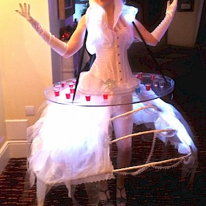 sugar plum fairy human canape tray hire uk