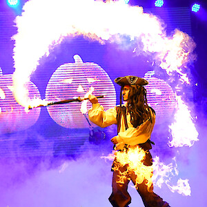 pirate fire performer hire uk