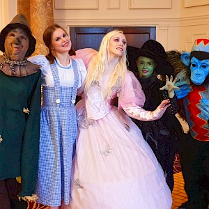 wizard of oz entertainers uk