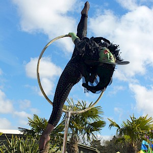 wicked witch aerial performer uk