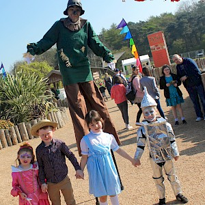 scarecrow stilt walker hire uk