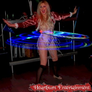 hula hoop act hire uk