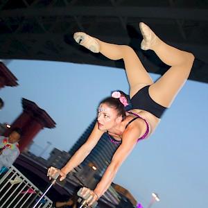 event acrobat hire uk