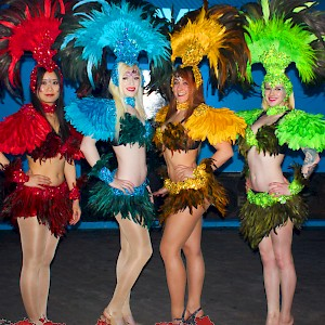 carnival hostesses