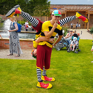 clown show hire uk