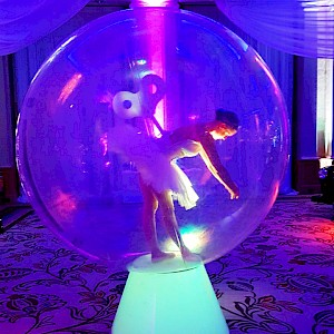 lize size snow globe hire uk