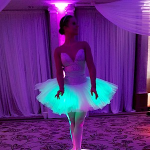 LED ballerina hire uk