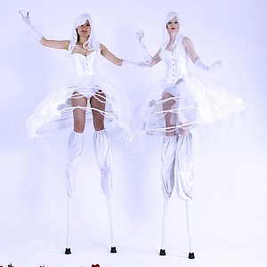 hire winter wonderland performers uk