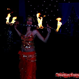 hire bollywood fire dancers uk