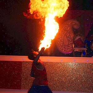 hire bollywood fire show uk
