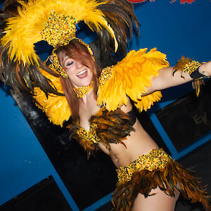 carnival dancer hire uk