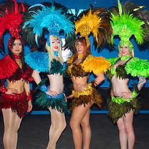 carnival dancers hire uk