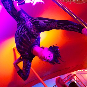 greatest showman themed performer hire uk