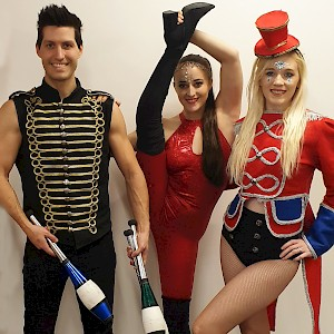 Greatest showman performers hire uk