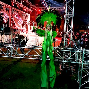 hire festival stilt walker