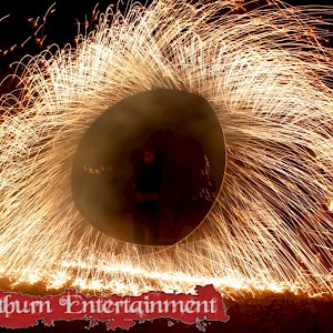 festival fire show hire uk