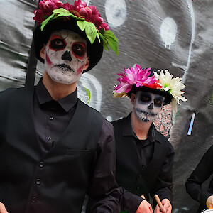 hire day of the dead drummers uk