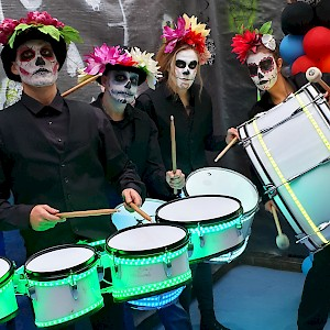 hire day of the dead drummers london