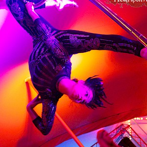 gatsby aerial hoop performer hire uk