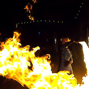 hire birmingham fire performer