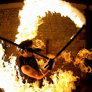 hire bristol fire performer