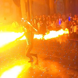 hire bristol fire show performers