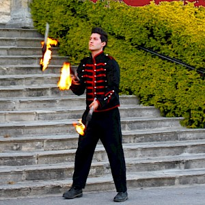 north east fire performer hire
