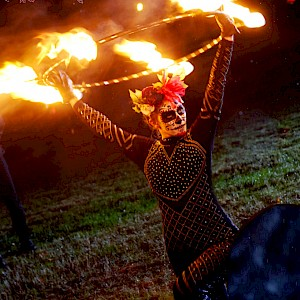 north east fire performers hire