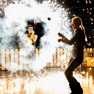 hire north east fire performers