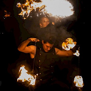 newcastle fire performers show hire