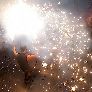 hire newcastle fire performers