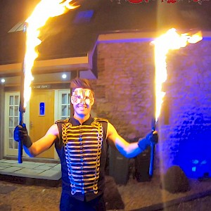 hir leeds fire performance show