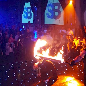 hire leeds fire performers
