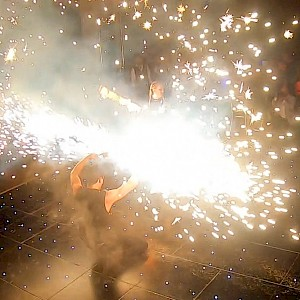 hire leeds fire dancers