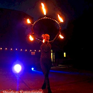 hire leeds fire show