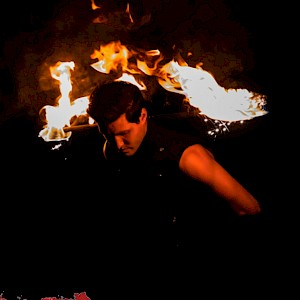 hire liverpool fire performers