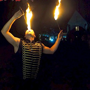hire glasgow fire eater