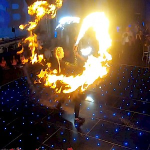 hire glasgow fire dancers