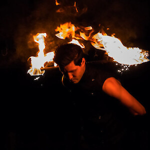 hire glasgow fire performers