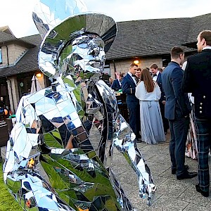 hire mirrorman performer dancer uk
