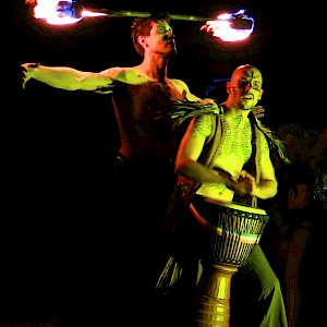 tribal party entertainment hire
