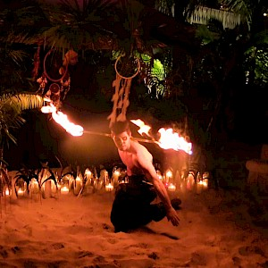 tribal party fire performer uk