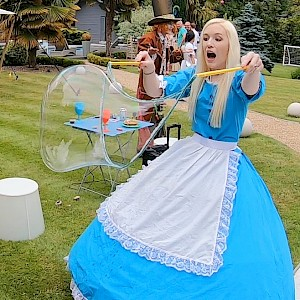 hire bubble show uk