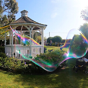 big bubble show hire uk
