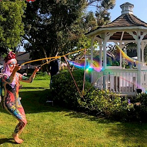 big bubble performer hire uk